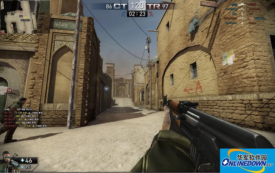 反恐精英CS1.6攻略之狙击枪闪镜开枪方法