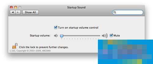 如何关闭Mac启动铃声