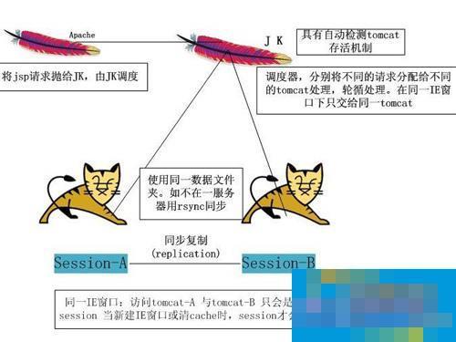 Linux系统中Apache和Tomcat的不同点