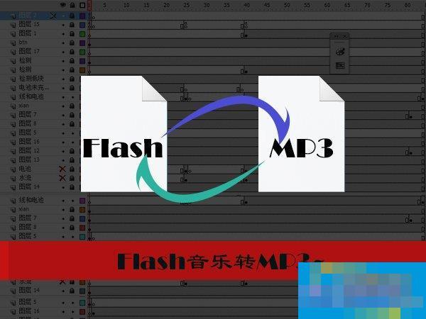 怎样把Flash音乐转成MP3?Flash转换MP3的方法