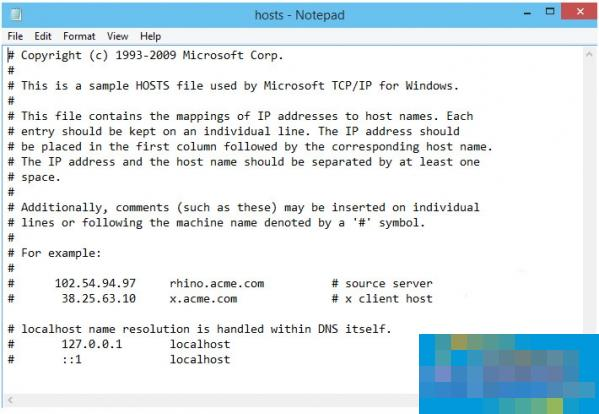 hosts文件位置含Win7/8/10 Mac Linux修改方法附hosts文件