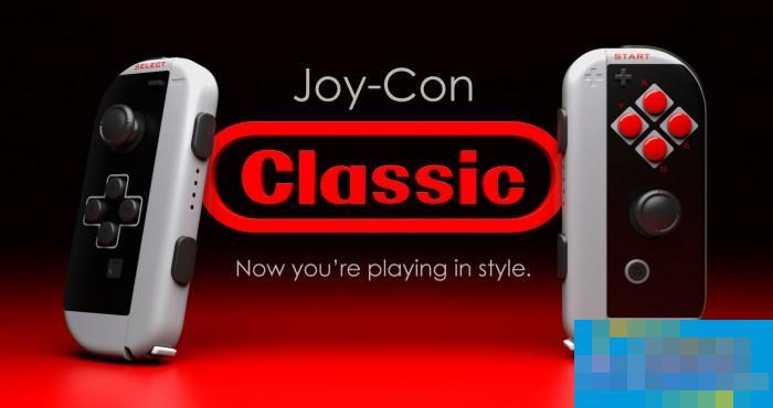 ColorWare为Switch主机推复古NES配色Joy Con手柄