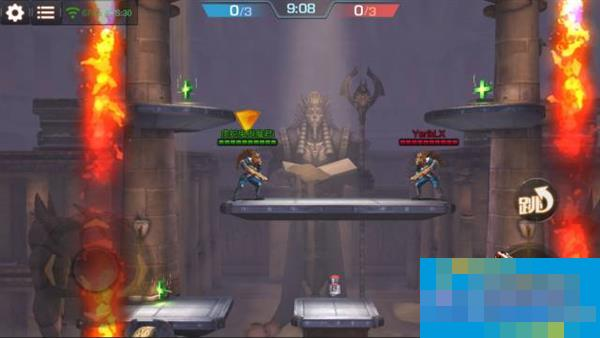 《魂斗罗:归来》新玩法:1V1狼人死斗和2V2无限火力