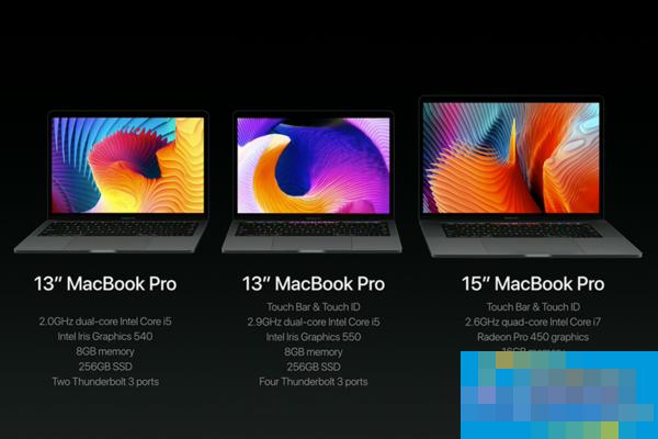 苹果MacBook Pro 2016 发布会